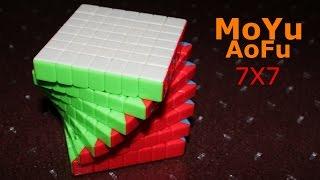 getlinkyoutube.com-MoYu Cubic AoFu 7x7 GT (Stickerless)