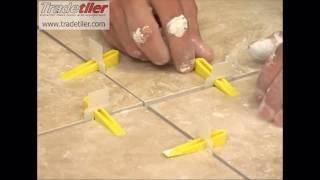 getlinkyoutube.com-Tile levelling Lash Clips from Tradetiler