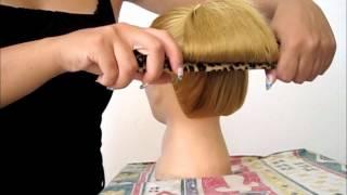 getlinkyoutube.com-Chignon capelli con Hair Origami  | Beautydea