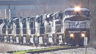 getlinkyoutube.com-[2D] Norfolk Southern Trains in the Heart of Georgia, Part 2/3, Macon GA, 03/05/2016 ©mbmars01