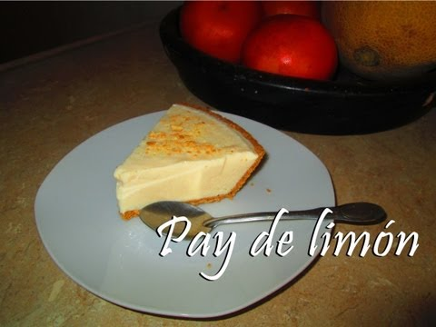 Pay de limón - ¡Super facil, sin horno!