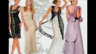 getlinkyoutube.com-Красивые вязаные платья. Beautiful crochet dresses