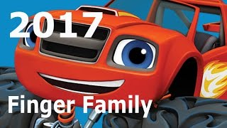 New 2017  Blaze and Monster Machines Finger Family Complication For Children 2017