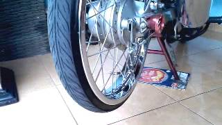 getlinkyoutube.com-Exaust Supra X 125R on Karisma 125D