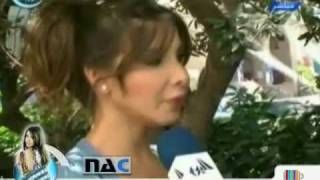 getlinkyoutube.com-Nancy Ajram - First Interview After Wedding Part 2