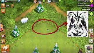 Simbol satanisme di game clash of clans (Game COC) HD