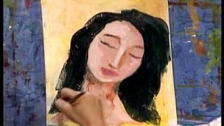 getlinkyoutube.com-Karrie On Canvas: Abstract Faces