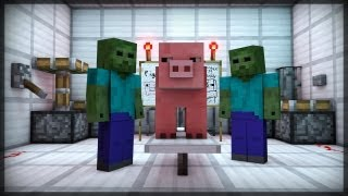 getlinkyoutube.com-CREATURE CREATION (Minecraft Animation)