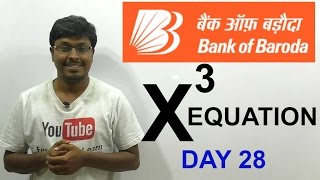 IBPS PO 2016 ( Night class Day #28) BOB Equation