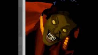 getlinkyoutube.com-Michael Jackson Speed Painting-Thriller Part 1