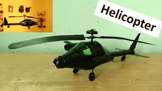 getlinkyoutube.com-How to make a string guided flying helicopter