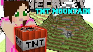 getlinkyoutube.com-Minecraft: MOUNTAINS OF TNT! TOTAL HOUSE BOMBOVER - Mini-Game