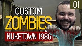getlinkyoutube.com-Custom Zombies | Nuketown 1986: É Nuketown + Buried! (C/ convidado)
