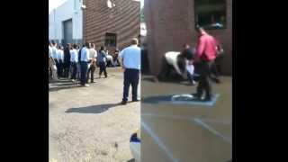 Lincoln Tech Student Vs NJ Cops (Student Tries To Fight Police Over Parking Space)