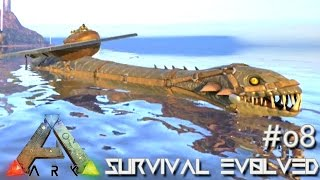 getlinkyoutube.com-ARK: Survival Evolved - Plesiosaurus Platform Ballista Elevators !!! [Ep 08] (Server Gameplay)
