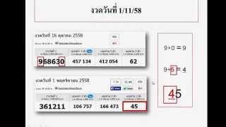 getlinkyoutube.com-สูตรหวยเข้าทุกงวด เล่นแล้วรวยจริง คอหวยห้ามพลาดเด็ดขาด สูตร 5-6 งวด 1 ธันวาคม 2558