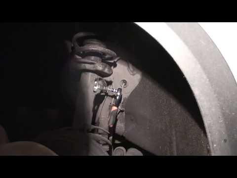 Расположение у Audi A7 сайлентблоков передних рычагов