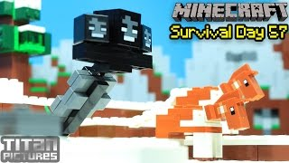getlinkyoutube.com-Lego Minecraft Survival 57 - Wither