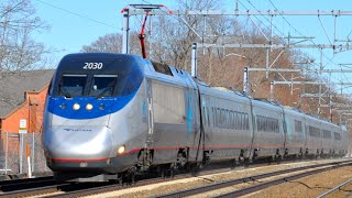 getlinkyoutube.com-Amtrak Acela Express - America's Fastest Train