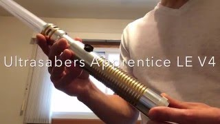 getlinkyoutube.com-Ultrasabers Apprentice LE V4 Lightsaber Review