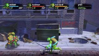 getlinkyoutube.com-TMNT: Turtles in Time Re-Shelled - CO-OP Playthrough (Part 1)