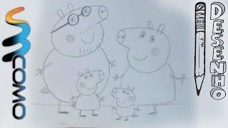 getlinkyoutube.com-Desenhando toda a família da Peppa Pig