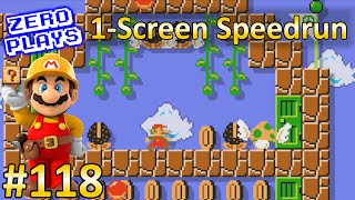 getlinkyoutube.com-One-Screen Speedrun | Super Mario Maker Part 118