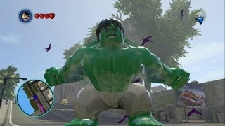 getlinkyoutube.com-LEGO Marvel Super Heroes - Hulk and Abomination Free Roam Gameplay