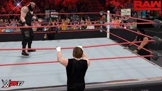 getlinkyoutube.com-WWE 2K17: The Shield attacks Braun Strowman! (PC Mods Custom Scenario)