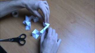 getlinkyoutube.com-How to make a Papercraft Yoshimoto Cube by FK (detailed version)