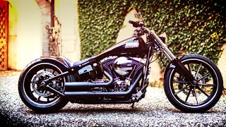 getlinkyoutube.com-BEST CUSTOM OF HARLEY DAVIDSON BREAKOUT (PART 4)
