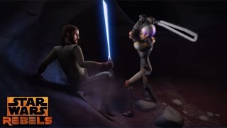 getlinkyoutube.com-Star Wars Rebels: Kanan & Sabine Emotional Training Scene
