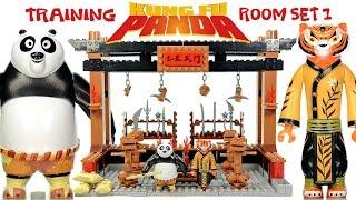 getlinkyoutube.com-Kung Fu Panda 3 Training Room #1 Unofficial LEGO Block Set w/ Po & Tigress