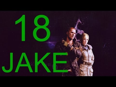 Resident Evil 6 walkthrough - Final Boss Jake Walkthrough HD part 18 J+ Sherry gameplay RE6