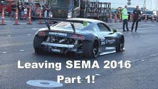 getlinkyoutube.com-Leaving SEMA 2016 Part 1 of 4
