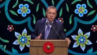 Cumhurbaşkanı Erdoğan Vakıflar Haftası Konuşması