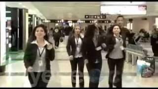 getlinkyoutube.com-دبكه   مطار بيروت  - dabkeh   beirut airport