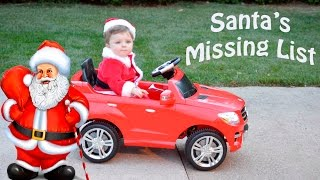 getlinkyoutube.com-Little Heroes THE NORTH POLE PATROL + Christmas Cops Santa's Missing List Video Parody