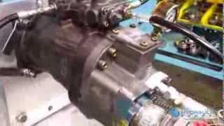 getlinkyoutube.com-Testing a Hitachi HPV145 Hydraulic Pump