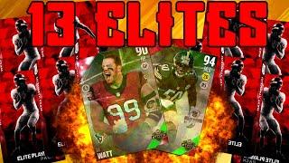 getlinkyoutube.com-13 Elites One Elite Exhange Pack!!!! | HB JJ WATT & 94 Speed Shazier | Madden 16 Ultimate Team