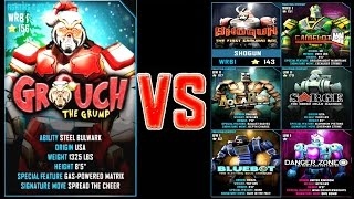 getlinkyoutube.com-Real Steel WRB GROUCH (Grinch) ROBOTS Series of fights | Christmas | NEW ROBOT (Живая Сталь)