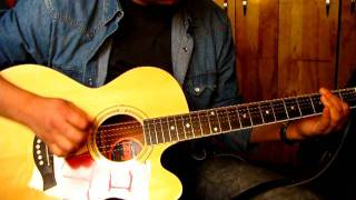 getlinkyoutube.com-Johnny Cash - Personal Jesus (Acoustic Cover by Mauro)