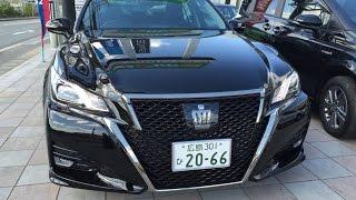 getlinkyoutube.com-2015 TOYOTA マイチェン新型クラウン アスリート2L直噴ターボ  超カッコいいブラック!