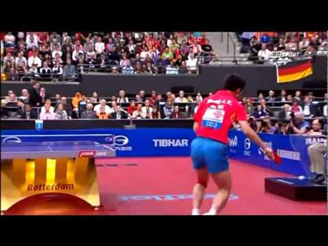 TT- WC Final 2011:  WANG HAO - ZHANG JIKE  [3/4]