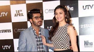 Arjun makes fun of Alia Bhatt | 2 States Movie | Bollywood News Today