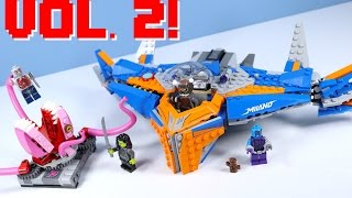LEGO Marvel Guardians of the Galaxy Vol 2. The Milano vs. The Abilisk