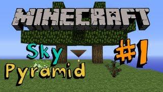 """getlinkyoutube.com-Minecraft Sky Pyramid Map #1 - """"Dzień, jak codzień"""""""