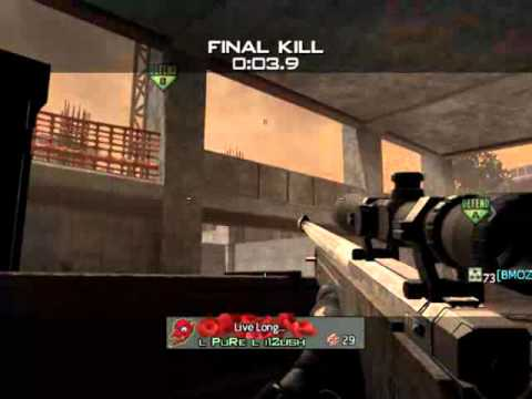 EPIC Random Throwing Knife In MW3 SND GWK