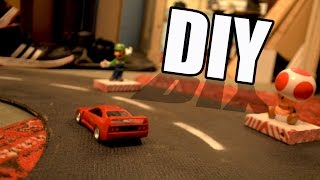 getlinkyoutube.com-How to Make • Spinning Track for Toy Cars