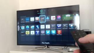 getlinkyoutube.com-Présentation de ma TV SAMSUNG 55' SMART TV (LED et 3D)